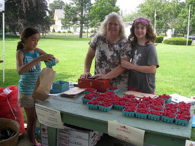 Farmers Market, July 16, 2009